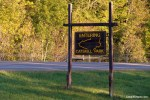 Entering Catskill Park Sign