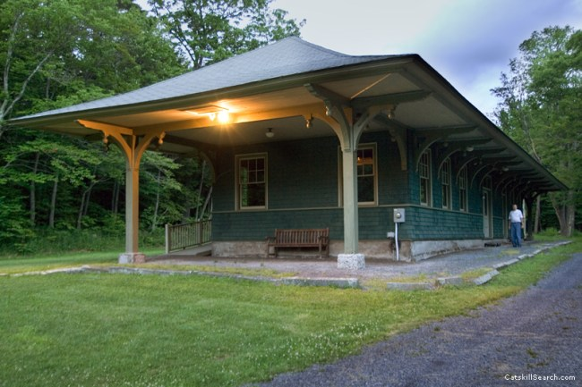 Haines Falls Railroad Station