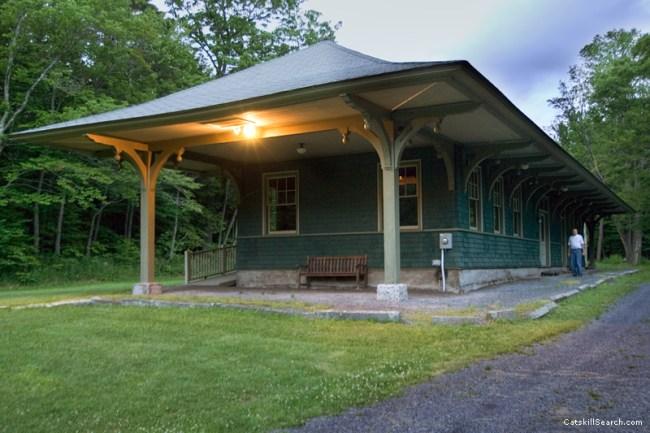 Haines Falls Railroad Station