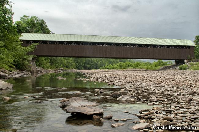 Blenheim Covered Bridge and Schohaire Creek