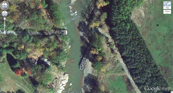 Bush Road Bridge/ Schoharie Creek