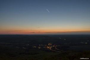 Venus sets over Stamford